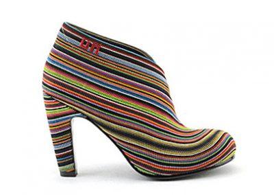 gestreepte-schoen