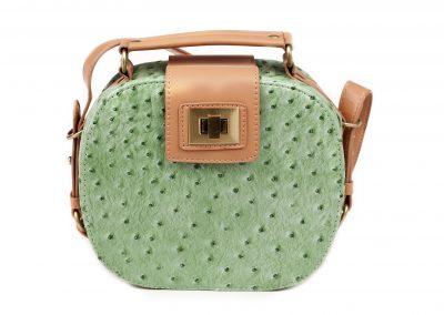 Green Women's handbag, Ladies bag, Green female clutch, Green clutch.Women's bag isolated white background.Bag isolated white background.Clutch isolated white background.